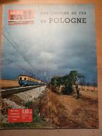 Vie Du Rail 771 1960 Vizille Viriville Heyrieux Saint Germain Des Fossés Pologne Varsovie Gubalowska Cracovie Ardèche - Trains