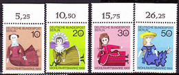 Berlin - Puppen  (MiNr: 322/5 OR) 1968 - Postfrisch MNH - Unused Stamps