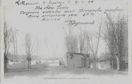 MONTGERON - LAVOIR SUR L'YERRES - CARTE PRECURSEUR ANIMEE - 1904 - Other Municipalities
