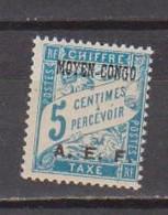 CONGO        N°  YVERT   TAXE 1   NEUF AVEC CHARNIERES      ( CHARN  04 / 16 ) - Neufs
