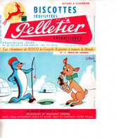 Ref Ex : Buvard : Biscottes Pelletier J L Pesch - Non Classificati