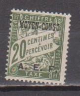 CONGO        N°  YVERT   TAXE  3   NEUF AVEC CHARNIERES      ( CHARN  04 / 16 ) - Neufs