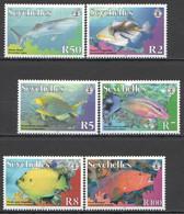 YY719 LAST 2 IN STOCK 2010 SEYCHELLES FAUNA FISH & MARINE LIFE SHARKS MICHEL 35 EURO SET MNH - Maritiem Leven
