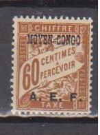 CONGO        N°  YVERT   TAXE  8   NEUF AVEC CHARNIERES      ( CHARN  04 / 16 ) - Neufs