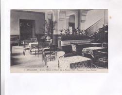 CPA DPT 88 GERARDMER; GRAND HOTEL ET HOTEL DE LA POSTE , HALL, ASCENSEUR ET GRAND ESCALIER - Gerardmer