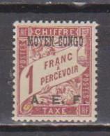CONGO        N°  YVERT   TAXE  9  NEUF AVEC CHARNIERES      ( CHARN  04 / 16 ) - Neufs