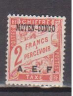 CONGO        N°  YVERT   TAXE  10  NEUF AVEC CHARNIERES      ( CHARN  04 / 16 ) - Neufs