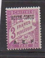CONGO        N°  YVERT   TAXE  11  NEUF AVEC CHARNIERES      ( CHARN  04 / 16 ) - Neufs