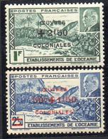 OCEANIE ( POSTE ) : Y&T N°  169/170  TIMBRES  NEUFS  SANS  TRACE  DE  CHARNIERE . A  SAISIR . - Nuevos