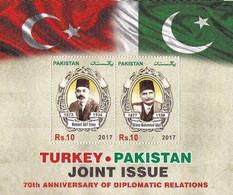 2017 PAKISTAN-TURKEY JOINT MS - Gemeinschaftsausgaben