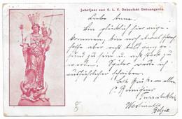 Westmalle, Jubeljaar Van O.L.V. Onbevickt Ontvangenis, Poststempel Westmalle Ca. 1906 - Malle