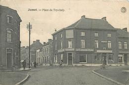 Belgique - Charleroi - Jumet - Place Du Try-Chaly - Petit Pli - Charleroi