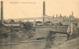 Belgique - Charleroi - Lodelinsart - Intérieur Des Verreries Jonet - Carte Taxée - Charleroi