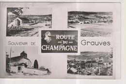 CPA-51-Marne- Souvenir De GRAUVES- Route Du Champagne- Multivues- - Other Municipalities