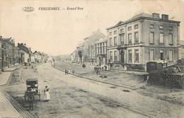Belgique - Farciennes - Grand' Rue - Attelage - Farciennes