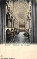 Belgique - Tournai - Cathédral - Nef Principale - Nels Série 48 N° 31 - Couleurs - Tournai