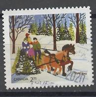 Canada - Kanada 2020 Y&T N°(1) - Michel N°3830 (o) - 2,71$ œuvre De M Lewis - Used Stamps