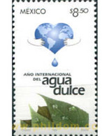 Ref. 343819 * MNH * - MEXICO. 2003. INTERNATIONAL SWEET WATER YEAR . AÑO INTERNACIONAL DEL AGUA DULCE - Environment & Climate Protection