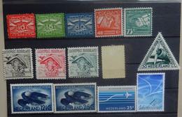 NEDERLAND Luchtpost   Lotje  Deels Spoor Scharnier * En / Postfris **  CW 118,00 - Airmail