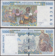 BURKINA FASSO - 5000 Francs 2001 P# 313Ck West African States - Edelweiss Coins - Burkina Faso