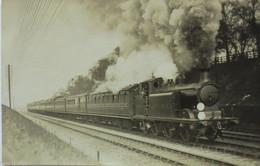 """""""Eisenbahn, Lok"""" Fotokarte Ca. 1910 Aus Großbritannien (6264) - Sonstige"""