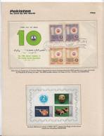 IRANI DENTAL ASSOCIATION-IRAN-SET OF 2 FDC, Turkey 1977 Regional Cooperation, RCD. Pot,Jug,Cart,on Card With History - Disease