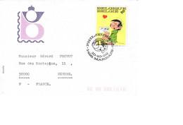 MARBAIS :  Un Pli TàD 10.10.1992 PHILJEUNE 92 (Franquin) - 1991-00
