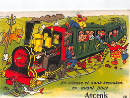 ANCENIS - Carte Système - Dépliant - Très Bon état - Ancenis