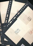 FRANCE SPORTS PETANQUE TIR A L'ARC LUTTE JOUTE NAUTIQUE EPREUVES D'ARTISTE SIGNE RAOUL SERRES YVERT 1161/64 X 12 - Non Classificati