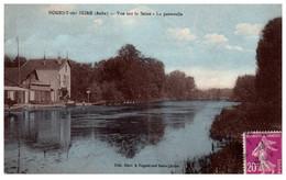 10 NOGENT-sur-SEINE - Vue Sur La Seine - La Passerelle - Nogent-sur-Seine