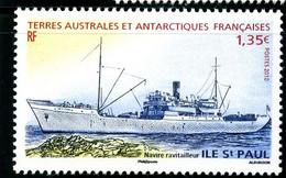 TAAF - 2010 - Navire Ravitailleur Ile St Paul - NEUF Sans TC - No 558 - Cote 5,40 € - Nuevos