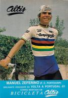 CYCLISME: CYCLISTE : MANUEL ZEFERINO - Cycling