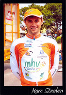 CYCLISME: CYCLISTE :MARC STAELEN - Cycling
