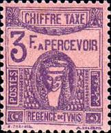 Tunisie Taxe N** Yv:49 Mi:49 Deesse Carthaginoise - Postage Due