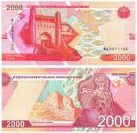 UZBEKISTAN 2000 SUM 2021 P NEW - UNC - Ouzbékistan