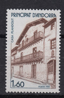ANDORRA (FR) : 326 ** Maison Plandolit (architecture) – 1983 - MNH. - Nuovi