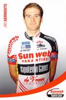 CYCLISME: CYCLISTE : JIM AERNOUTS - Cycling