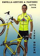 CYCLISME: CYCLISTE : STEF BODEN - Cycling