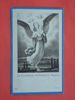 Andrea Planteféve - Dochtertje Van Wittouck Geboren Te Wytschaete - Wijtschate  1933 Overleden  1934 (2scans) - Religion & Esotericism
