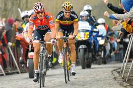 CYCLISME: CYCLISTE : FABIAN CANCELLARA - TOM BOONEN - Cycling