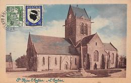 SAINT MERE EGLISE - L'Eglise - Très Bon état - Sainte Mère Eglise