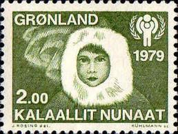 Groenland Poste N** Yv:106 Mi:118 Année Internationale De L'enfant - Nuevos