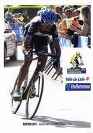 CYCLISME: CYCLISTE : JOHAN VAN SUMMEREN - Cycling