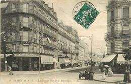 94 SAINT MANDE - La Grande Rue De La République - Saint Mande