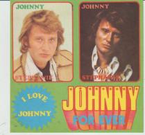 Johnny HALLYDAY - 4 Autocollants : 12cm X 12cm. Offert Par Le Magazine STEPHANIE - Unclassified