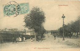 94 SAINT MANDE - Boulevard Carnot - Saint Mande