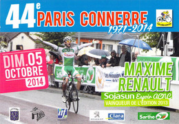 CYCLISME: CYCLISTE : MAXIME RENAULT - Cycling