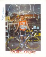 CYCLISME: CYCLISTE : GREGORY FAGHEL - Cycling
