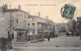 SAINT DIZIER - Place De L'Hôtel De Ville - Très Bon état - Saint Dizier