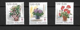 FINLAND 1981 Anti Tuberculosis, Flowers - Medicine